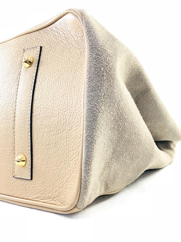 4519ce09d1b Valentino Omnia Taupe Leather Shoulder Bag - Tradesy