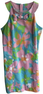 Lilly Pulitzer short dress pink, blue, green and orange on Tradesy