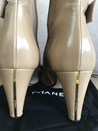 Chanel Rare Beige Boots Image 1