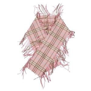 Burberry Happy Fringe Check Scarf