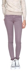 Mother The Looker Denim Colored Skinny Jeans
