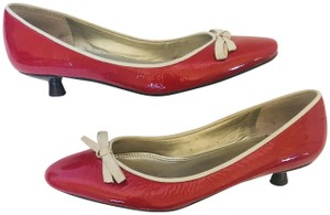 Tevolio Red Pumps