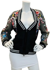 3.1 Phillip Lim Bomber Embroi Embroidered Multi Colored Jacket