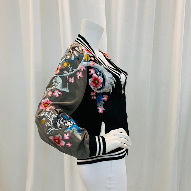 3.1 Phillip Lim Bomber Embroi Embroidered Multi Colored Jacket Image 1