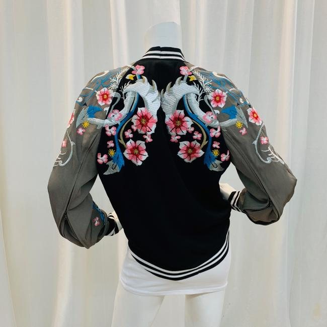3.1 Phillip Lim Bomber Embroi Embroidered Multi Colored Jacket Image 2