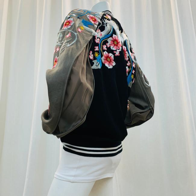 3.1 Phillip Lim Bomber Embroi Embroidered Multi Colored Jacket Image 3
