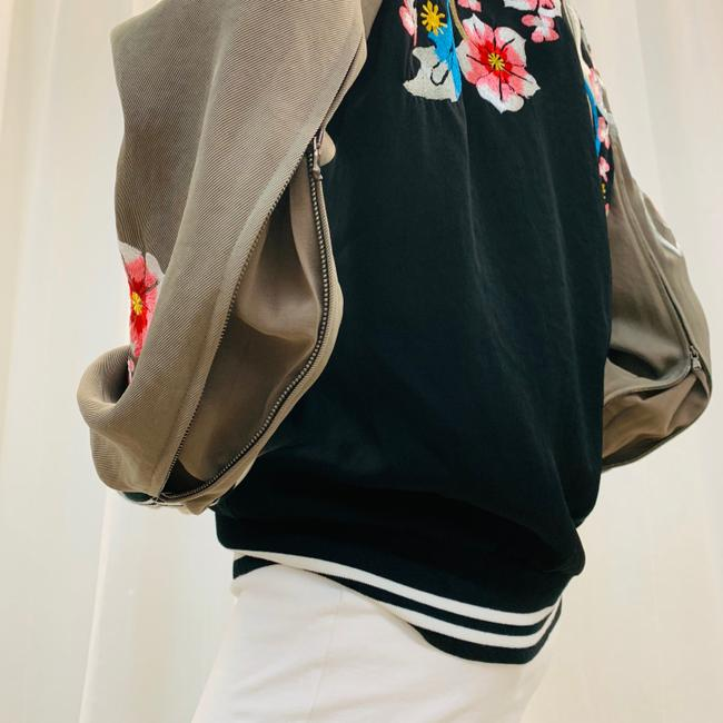 3.1 Phillip Lim Bomber Embroi Embroidered Multi Colored Jacket Image 4