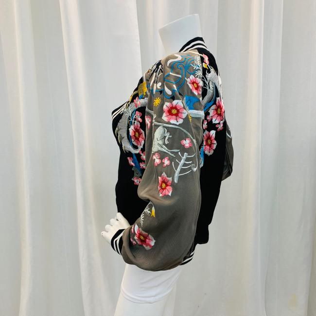 3.1 Phillip Lim Bomber Embroi Embroidered Multi Colored Jacket Image 5