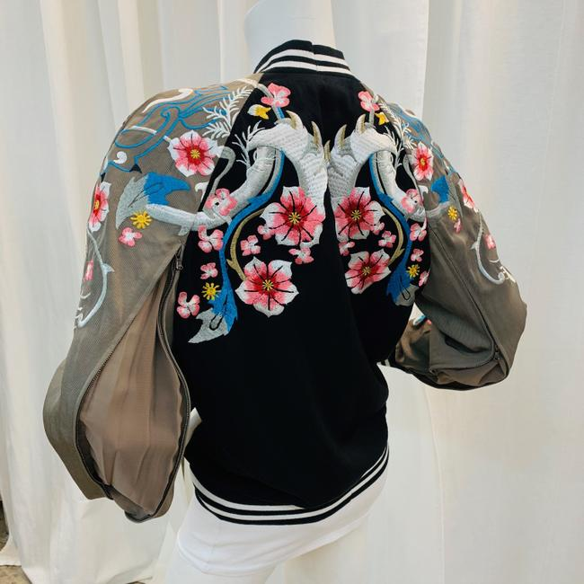 3.1 Phillip Lim Bomber Embroi Embroidered Multi Colored Jacket Image 6