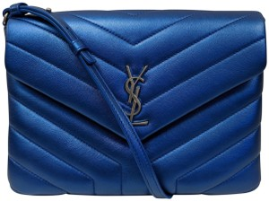 Saint Laurent Monogram Lou Small Cross Body Bag