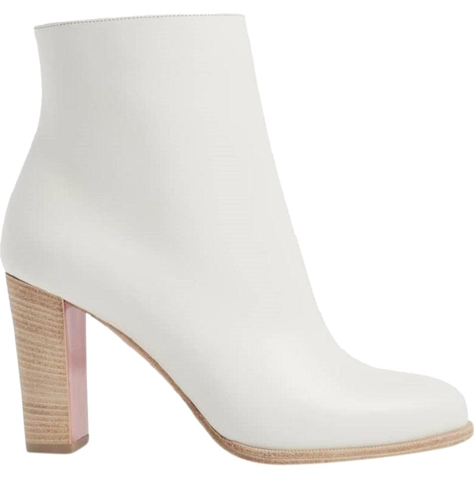 best authentic de31a 696a0 Latte-white Adox Boots/Booties