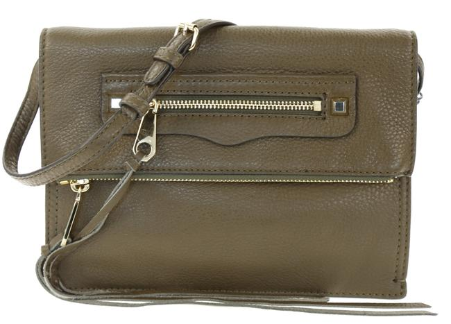 Item - Small Regan Olive Green Cowhide Leather Clutch