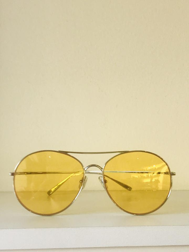 22359a5fd5ad Gentle Monster Avaitor Ranny Ring Yellow sunglasses Image 10. 1234567891011
