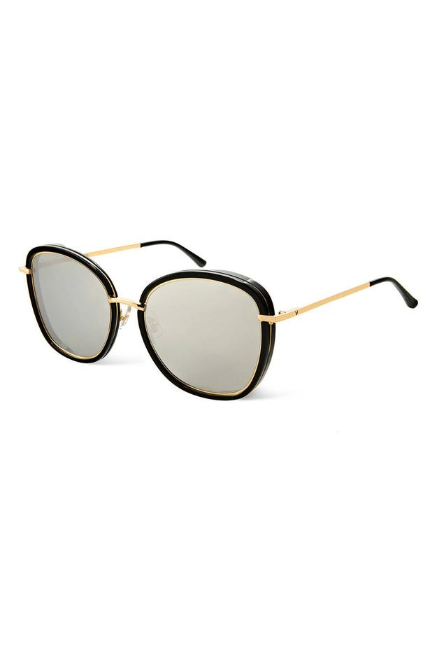 2a46068cf2e Gentle Monster Black Gold Switch 58mm Sunglasses - Tradesy