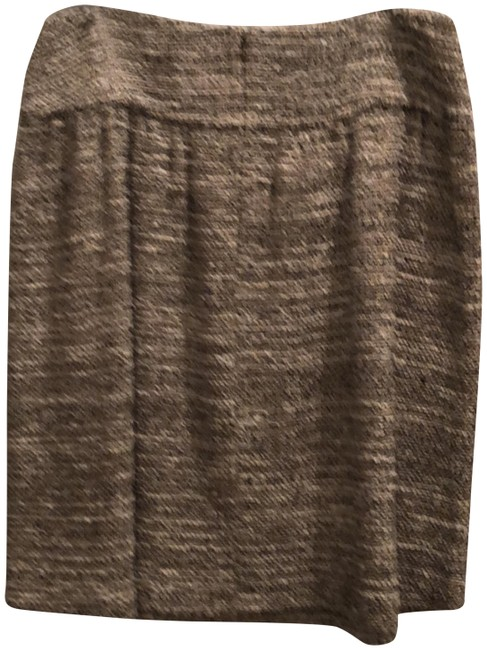 Item - Taupe Cream and Black Made Exclusively For Nordstrom Skirt Size 10 (M, 31)