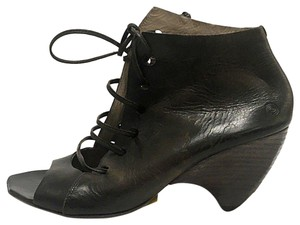 Marsèll Distressed Brown Leather Boots
