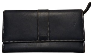 Coach Two Section Wallet with Zipper