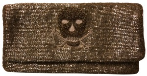 Moyna Antique Pewter Clutch