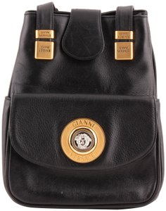 Versace Leather Vintage Sling Backpack