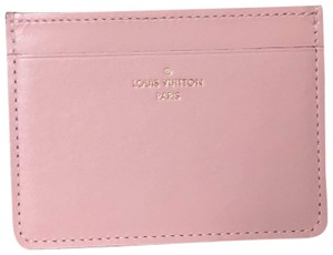 Louis Vuitton Authentic LOUIS VUITTON Hard To Find Pink Card Holder