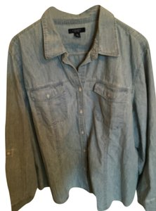 Chaps Button Down Shirt denim