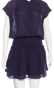 Rails short dress Navy Pinstripe Mini on Tradesy