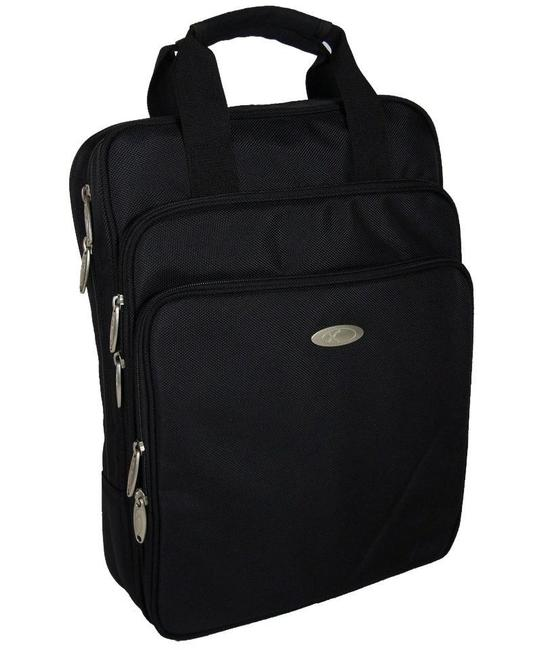 Item - Backpack Durable Computer For - Black Polyester Fabric Laptop Bag