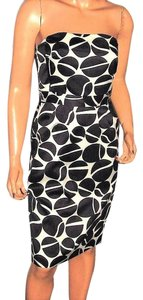 Banana Republic Polka Dot Strapless Dress