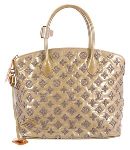 Louis Vuitton Fascination Patent Tote in Light Brown