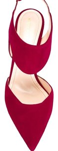 Nicholas Kirkwood Beet/Dark Red Pumps