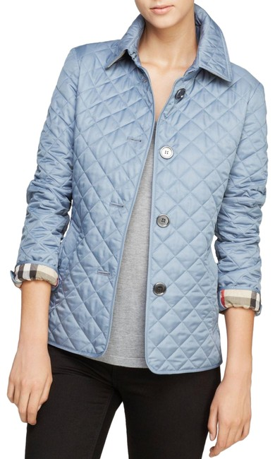 Item - Slate Blue Copford Diamond Quilted Large Jacket Size 12 (L)