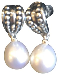 Fine Jewelry Vault Pearl pallini earrings