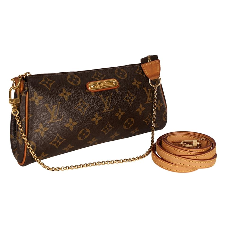 Louis Vuitton Eva Monogram 6598 Brown Canvas Cross Body Bag - Tradesy 7276312b9f85c