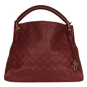 Louis Vuitton Artsy Monogram Canvas Leather Hobo Bag