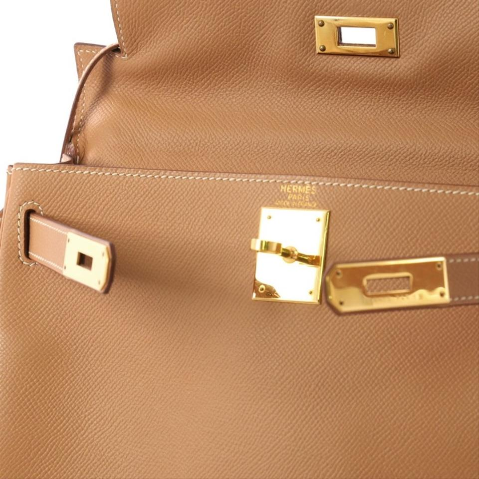 0d5d7a3a83ed Hermès Kelly Handbag Natural with Gold Hardware 28 Brown Courchevel ...