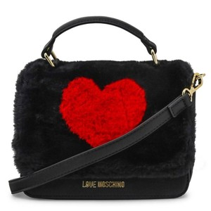 Love Moschino Bdjc4326pp06kw_100a Black Red Clutch