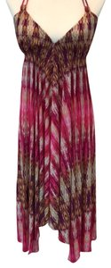 pink, red, multi Maxi Dress by PilyQ