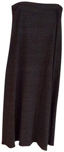 Alternative Earth Jersey Maxi Skirt Grey
