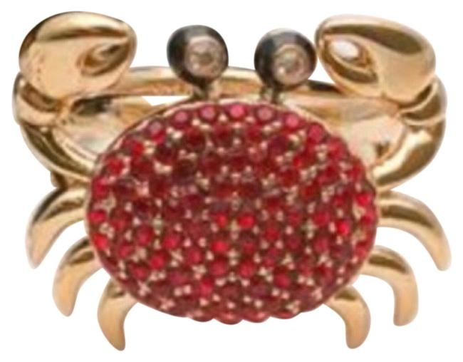 Item - Red/Gold Shore Thing Crab Ring