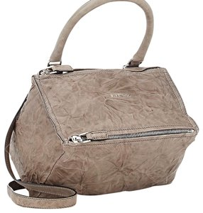 Givenchy Pandora Medium Pepe Leather Satchel in Anthracite