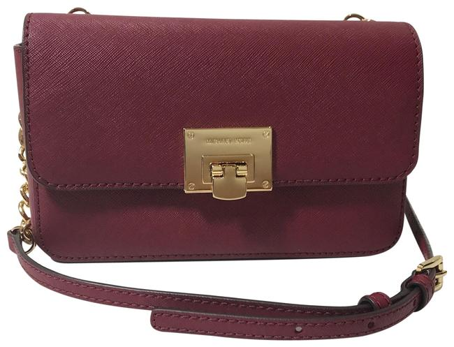 Item - Clutch New Tina Wallet Red Leather Cross Body Bag