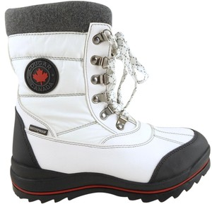 Cougar Winter Waterproof Comfortable Insulated White Boots