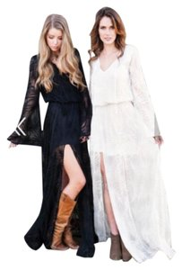 White Maxi Dress by Show Me Your Mumu Embroidered