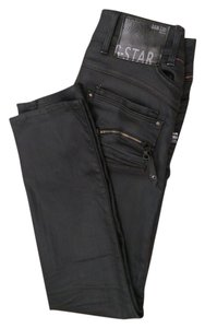 G-Star RAW Straight Leg Jeans-Coated