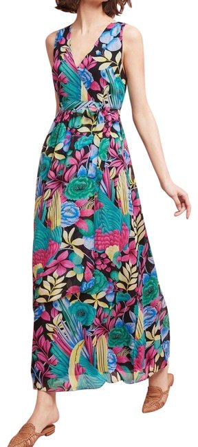 Item - Multi - Color Boardwalk Maxi By Maeve Long Night Out Dress Size 6 (S)