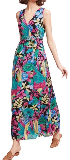 Item - Multi - Color Boardwalk Maxi By Maeve Long Night Out Dress Size 8 (M)