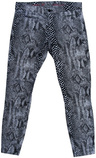Item - Blue Khakis By Super Snakeskin Print Ankle Pants Size 2 (XS, 26)