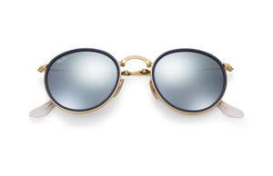 Ray-Ban Ray-Ban Round Folding RB3517 Gold Metal