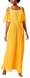 Yellow Maxi Dress by Sangria