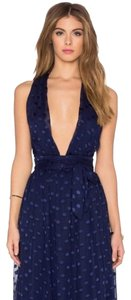 Navy Blue Maxi Dress by Privacy Please